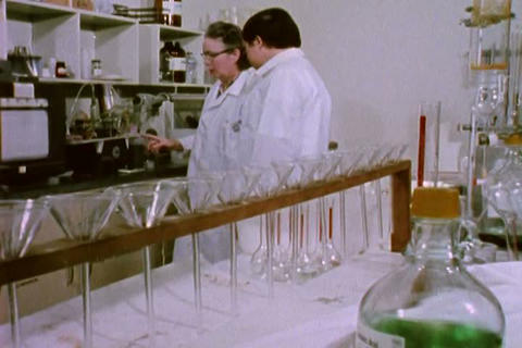 Researchers in Los Angeles in the 1970s discover w Footage