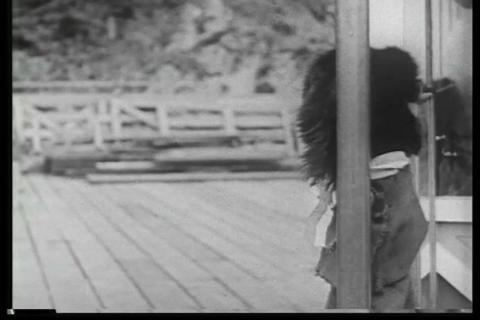 A steamship cruises through Alaska in 1932 Live Action