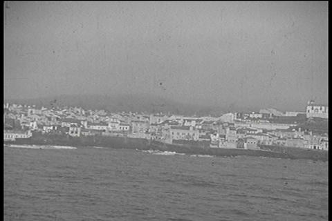 Home movies of an early cruise trip in the 1930s Footage