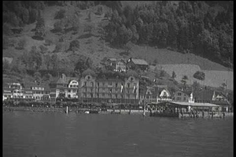 Home movies of Switzerland in the 1930s Footage