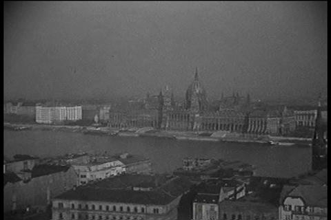 Home movies of Budapest Hungary in the 1930s Footage
