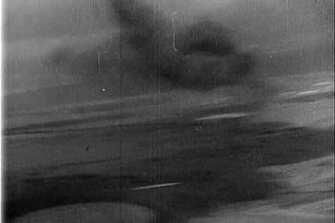 The bombing of Pearl Harbor on December 7, 1941 Live Action