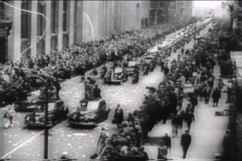 New York hails war heroes of United Nations in 194 Live Action