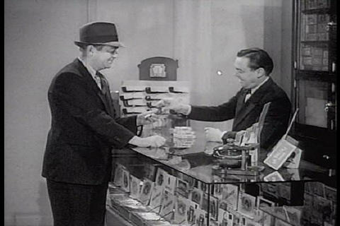 A man goes into a general store to buy a pipe to s Live Action