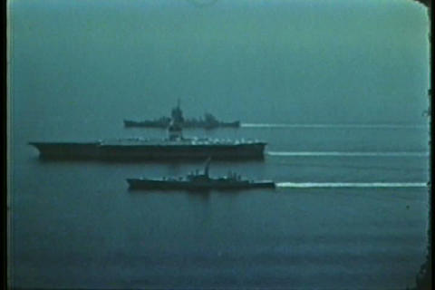 Life aboard an aircraft carrier in the 1960s Live Action