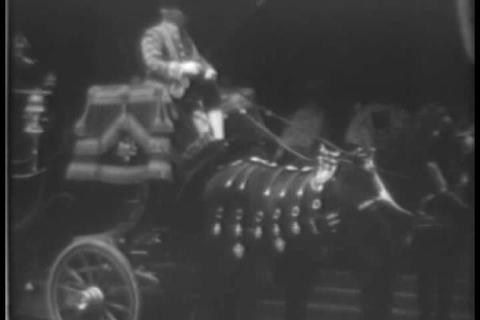 The coronation of England's King George VI in 1937 Live Action