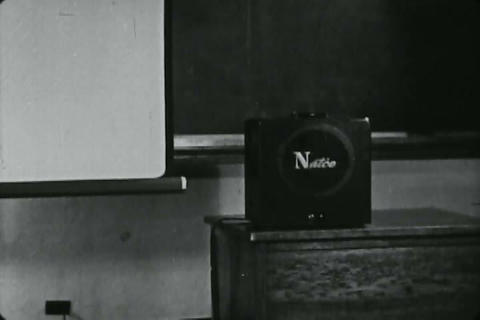 This 1950 films explains how best to project 16mm  Footage
