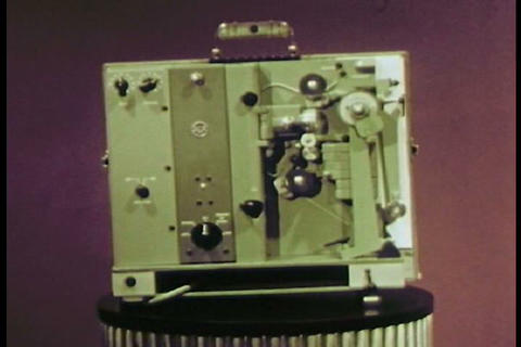 The wonders of the RCA film projector are introduc Footage