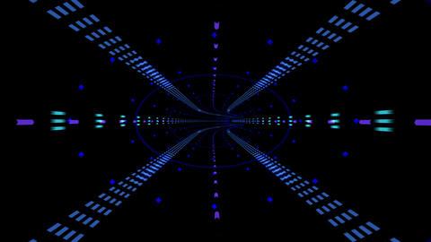 Digital Space B28k Stock Video Footage