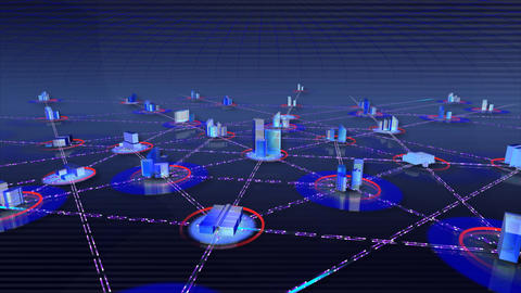 Network City a Animation
