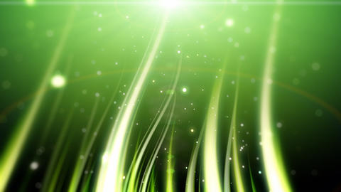 Flowing magic grass loop Animation