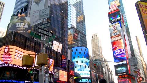NYC Times Square 07 Stock Video Footage