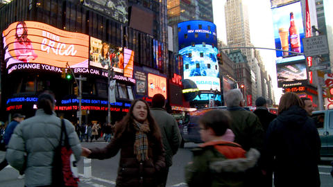 NYC Times Square 07 Footage
