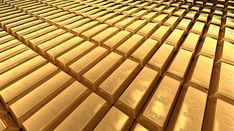 Gold Bar A2 Stock Video Footage