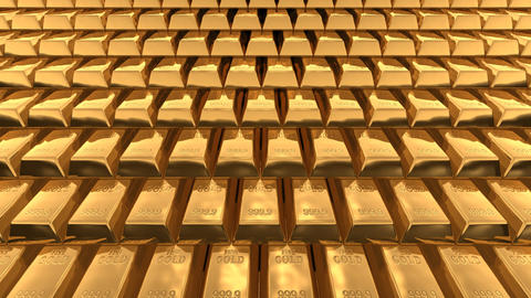 Gold Bar AA Stock Video Footage