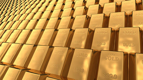 Gold Bar C2 Stock Video Footage