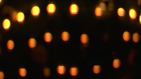 christmas light glow 01 Stock Video Footage