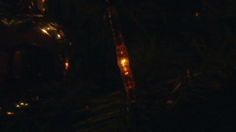 christmas light tree 02 Stock Video Footage