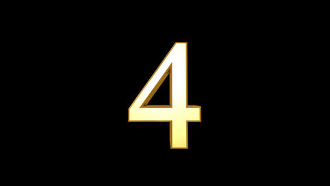 Countdown EEG Number HD Stock Video Footage