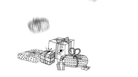 Christmas Present Stock Video Footage
