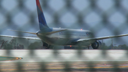 Airplane maneuver Stock Video Footage