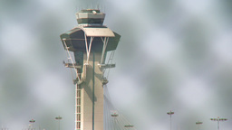 Airport Control Tower 01 Stock Video Footage
