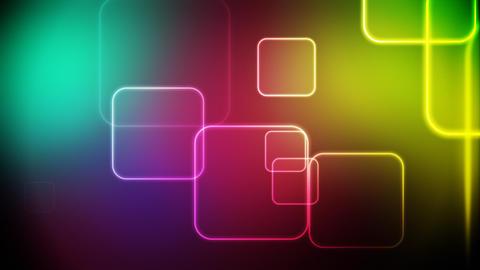 Color squares loop Stock Video Footage