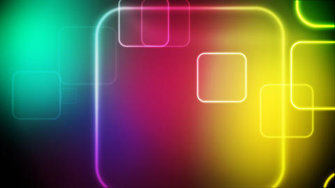 Color squares loop Animation