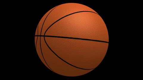 Basketball Spinning HD Stock Video Footage