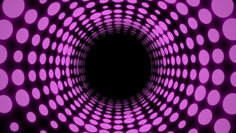 Disco Light Tunnel w/ Color (30fps) Animation