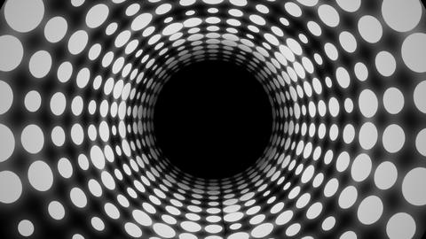 Disco Light Tunnel (30fps) Animation