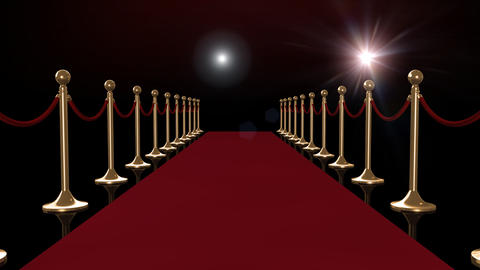 Red Carpet CG動画素材