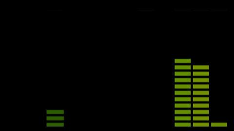 audio level Stock Video Footage