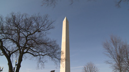 U.S. Washington Monument Footage