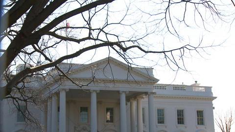 U.S. White House 02 Stock Video Footage