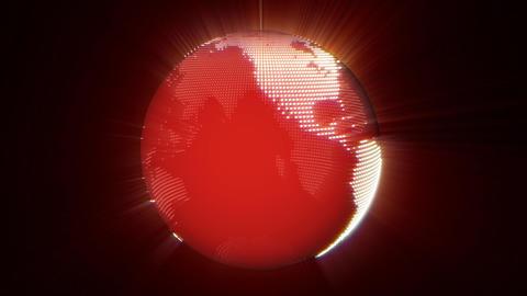 Earth Beams Stock Video Footage