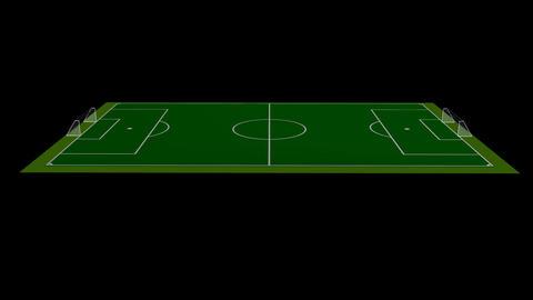 Football / Soccer Field Stock Video Footage