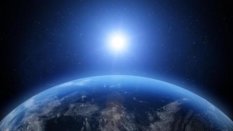 Sunrise on Earth Stock Video Footage