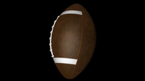 Rotating american football Animation