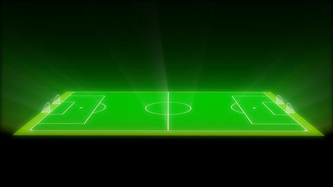 Football / Soccer Field Animation