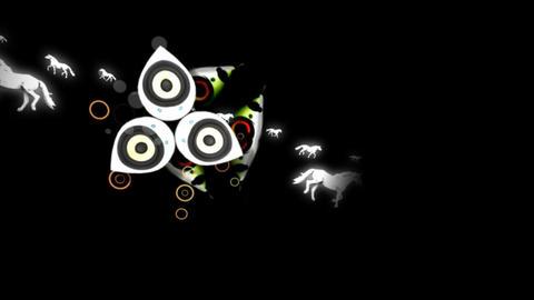 Horse sing Animation