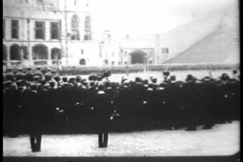 Processions and ceremony at Eton College, England  Live Action