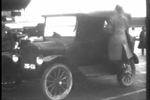 U.S. customs agent search and strip a car filled w Footage