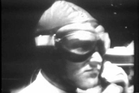 Commander Byrd crashes his plane on a trial flight Footage