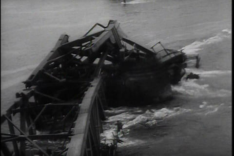 The Battle for the Bridge at Remagan in World War  Footage