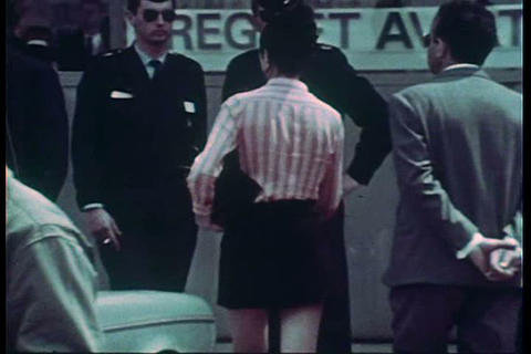 The Paris air show of 1967 Footage