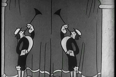 An animated fairy tale cartoon from 1933 Live Action