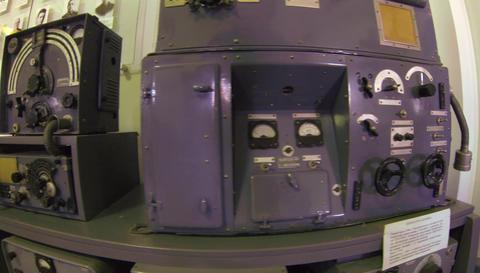 Military transmitter, portable radio 2.7K Footage