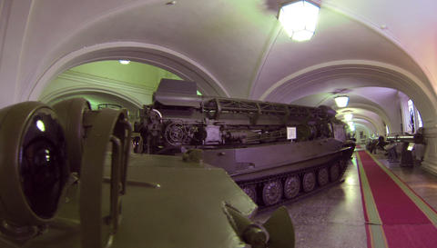 Ballistic missile 2.7K Footage