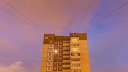 City Twenty-Four Hours, Urban Landscape Footage